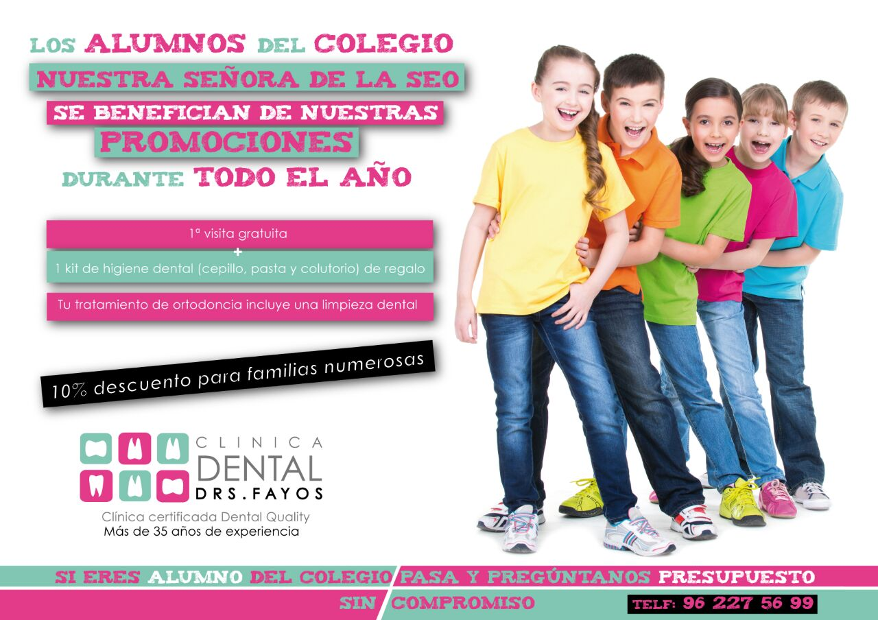 Promociones para el Colegio Nuestra Señora de la SEO